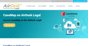 CaseMap on AirDesk Legal
