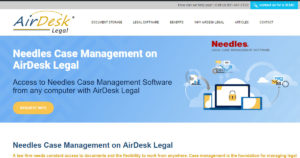 Needles in the cloud with AirDesk Legal
