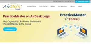 Practice Master in the cloud with AirDesk Legal