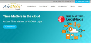 Time Matters on AirDesk legal